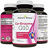 Product review for Natural Coq10 Ubiquinone Soft Gels – Super Antioxidant Supplements for Women and Men – Cell Growth and Maintenance – Health and Wellness Vitamins for Beautiful Skin – 30mg – By Nature Bound