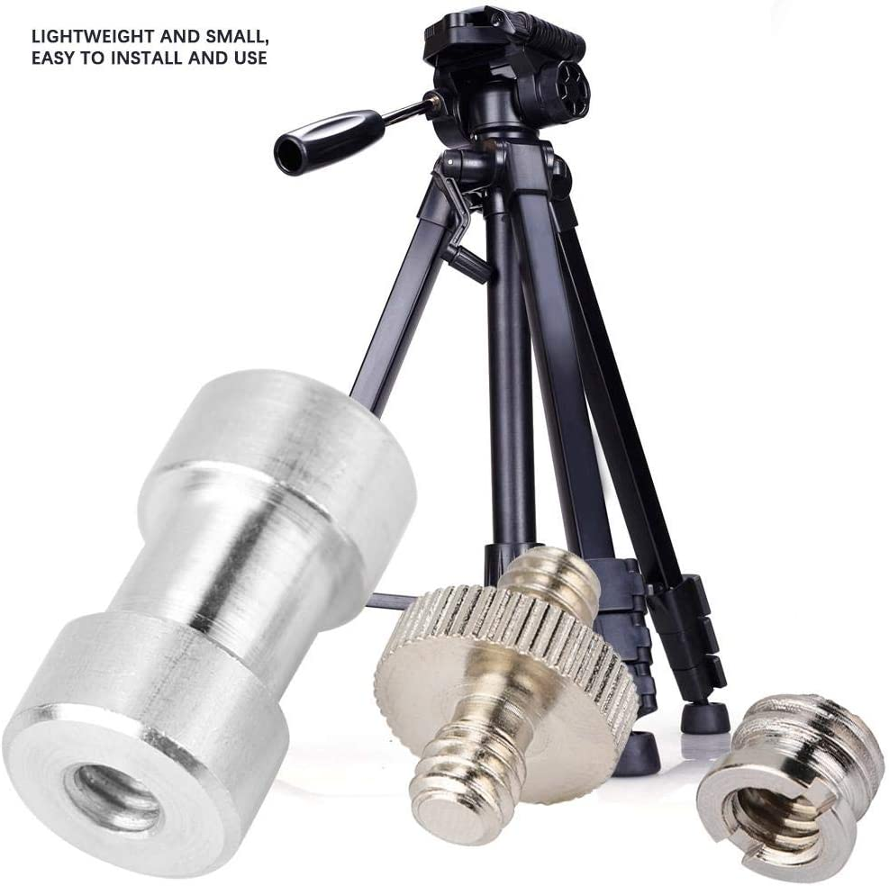Neufday Hinged Screw Quick Release Camera Fixing Screw with Standard 1//4 3//8 Thread for Camera//Tripod