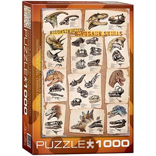 EuroGraphics Dinosaur Skulls Puzzle (1000-Piece)