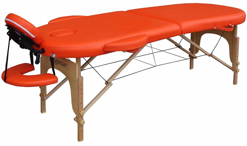 TSGPS Pro Luxe - Camilla de masaje plegable forma ovalada, color ...