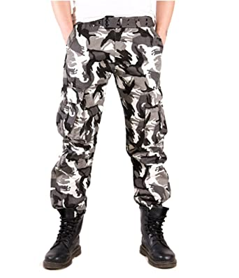 Tonwhar Men s Camouflage Hunting Cargo Pants at Amazon Men s ... d216a828a