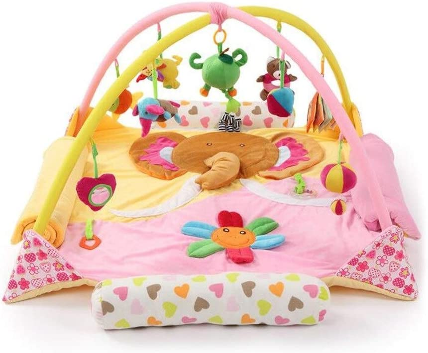 Baby Play Activity Gym Mat, Floor Gyms Suitable for 0-3 Year Old Baby, Toddler Infants