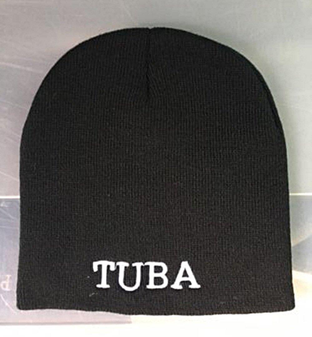 Sousaphone Hat Pop's Original TUBA Beanie-Blk