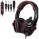 SADES SA708GT 3.5mm Gaming Headphones With Mic (PS4)