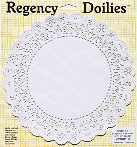 (Regency Wraps RW0028 Doilies Elegant Paper Lace, 10