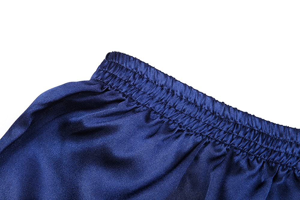 0188bb644f GREFER Hot Sale Men Pajama Sleepwear Homewear Robes Shorts ...