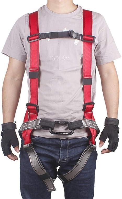 FENGSHUAI Cinturón de Seguridad para Escalar, arnés de Cuerpo ...