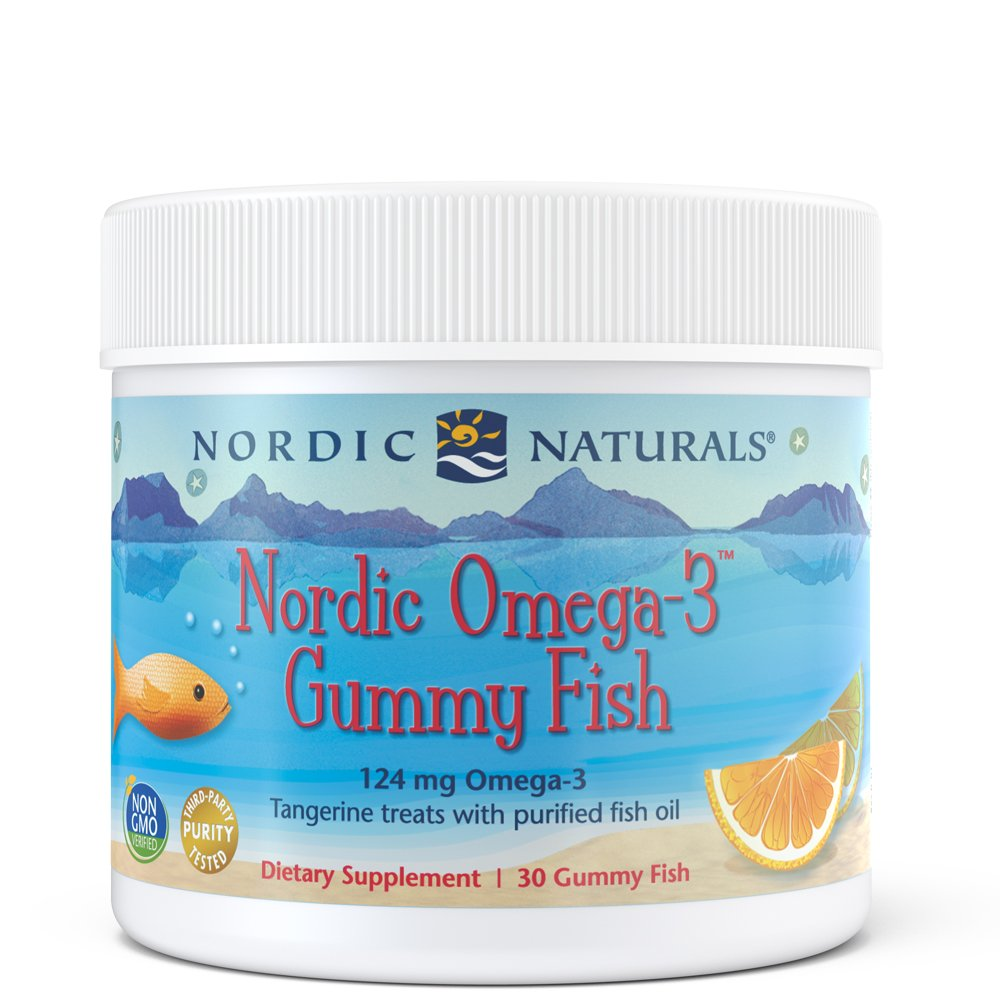 Nordic Naturals - Nordic Omega-3 Gummy Fish, Supports Optimal Brain and Immune Function, 30 Count