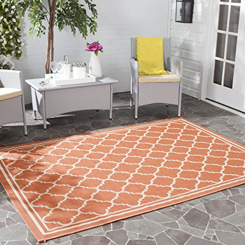 12x12 Bone (Safavieh Courtyard Collection CY6918-241 Terracotta and Bone Indoor/Outdoor Area Rug (9' x 12'))
