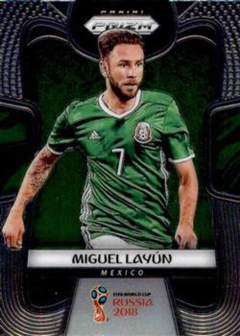 Amazon Com 2018 Panini Prizm World Cup Soccer 137 Miguel Layun Mexico Futbol Card Collectibles Fine Art