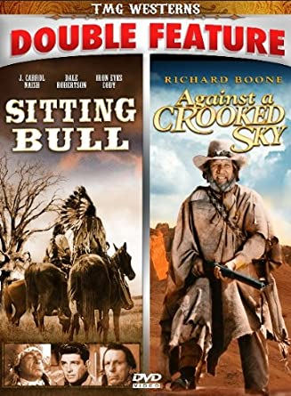 Image result for double feature sitting bull and against a crooked sky