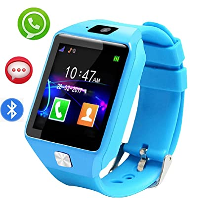Smart Watch con Bluetooth, Reloj Inteligente con Pantalla táctil ...