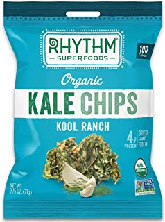 product image for Rhythm Superfoods Organic Kool Ranch Kale Chips, 0.75 Oz