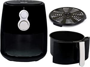 Better Chef, IM-434, 4 Liter (4.2 Qt) Air Fryer in Black and Silver