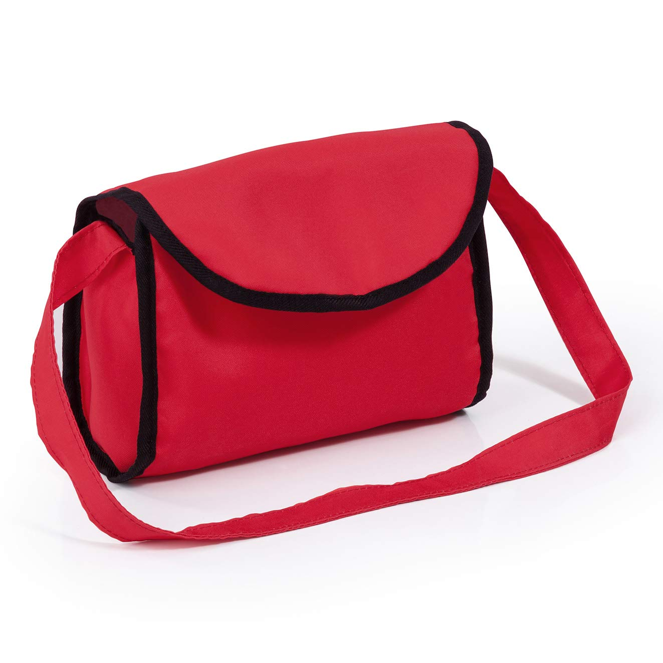 18199AA Bayer Design- Landau pour poup/ée City Neo avec Un Sac /à bandouli/ère et Un Panier Rouge Convertible en Une Poussette