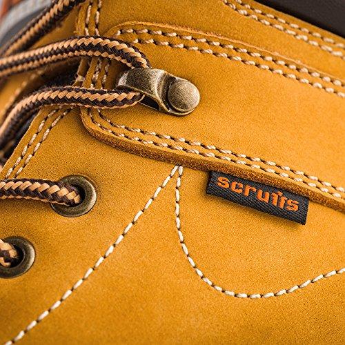 Scruffs Sharpe Arbeit Sicherheitsstiefel Stahlkappe Tan, UK 9, 1