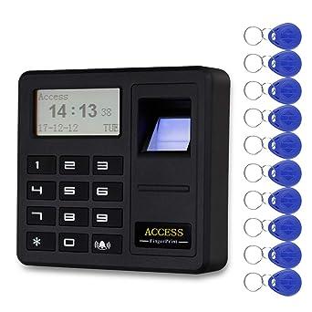NN99 Sistema de control de acceso para puertas controlador de huellas dactilares RFID teclado RFID identificación