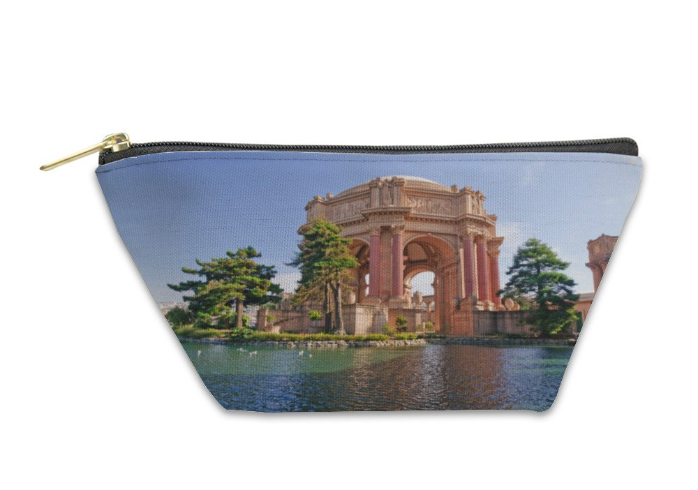 Gear New Accessory Zipper Pouch, Palace Of Fine Arts In San Francisco, Small, 5589175GN