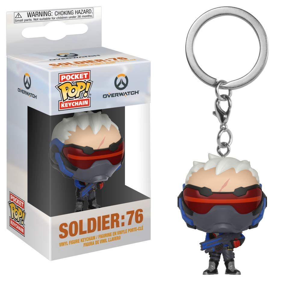 Amazon.com: POCKET POP Funko Keychain: Overwatch Bundle ...
