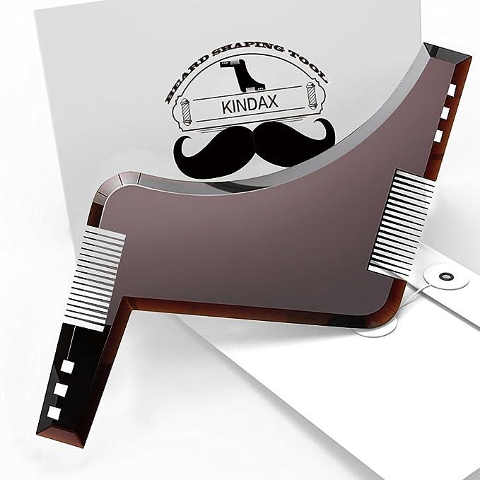 81 opinioni per Kindax Pettine Modello Barba All-In-One per Mantenere la Forma della Barba,
