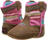 M&F Western Baby Girl's Camilla Bucker (Infant/Toddler) Medium Brown Distressed 1 M US Infant