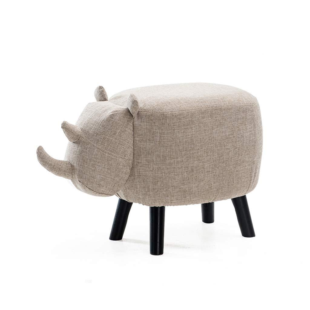 HLJ Panca per Calzature per Adulti creativi Sgabello per divani per Bambini di personalità BaiSiYi