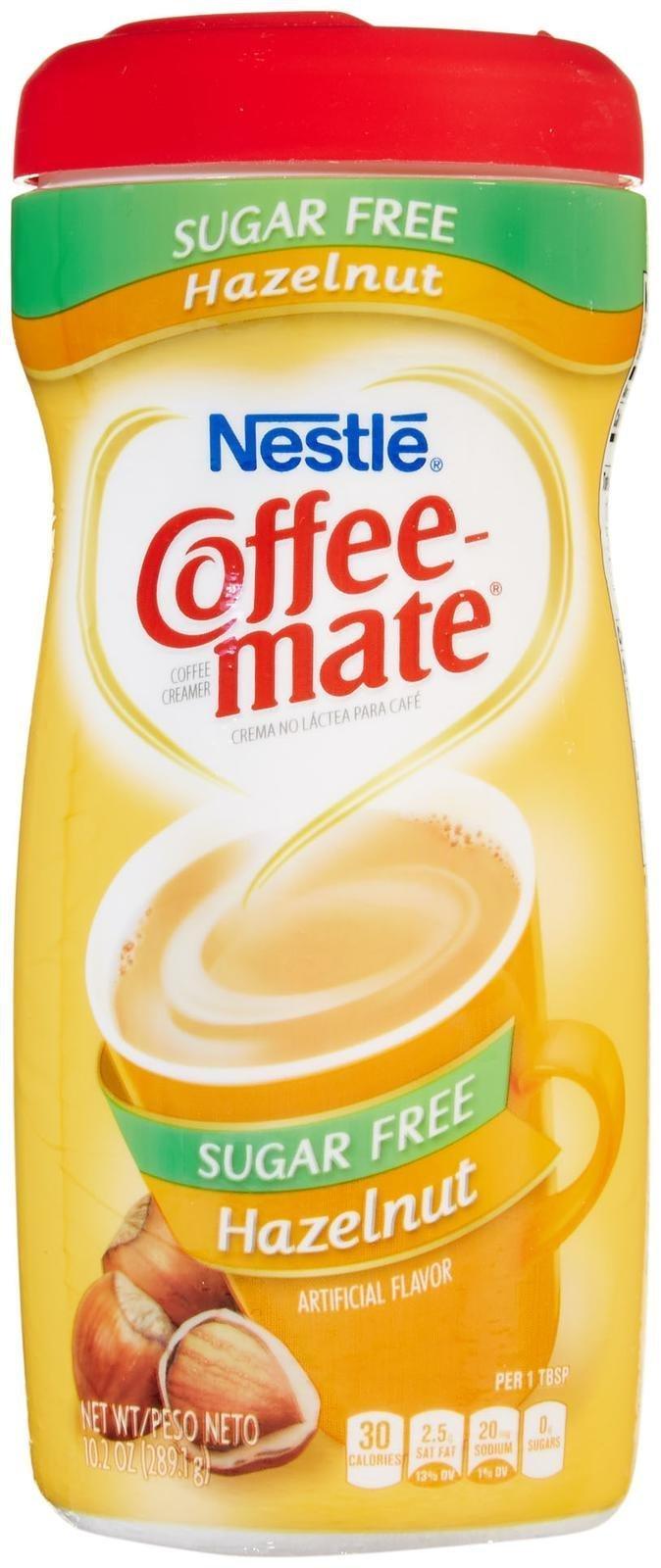 Coffee-mate Sugar-Free Powdered Coffee Creamer - Hazelnut - 10.2 oz.