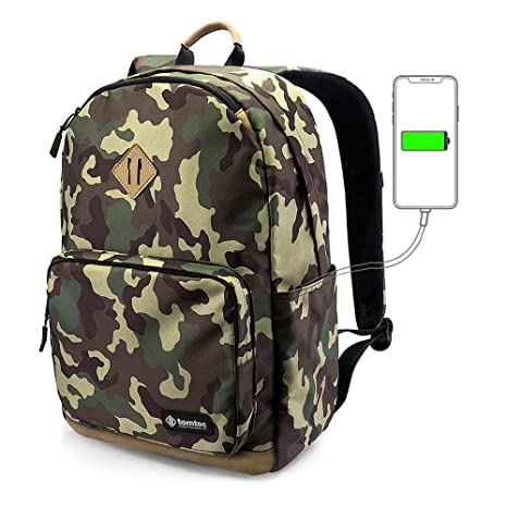 Amazon.com  tomtoc Durable College High School Book Bag 285f47698f697