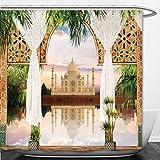 Interestlee Shower Curtain digital fresco india 568800154