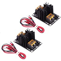 Nrpfell 2 Pack Upgraded Heat Bed Power Module Expansion Hot Bed Mosfet MOS Tube for Extruder, Ramps, Anet A8/A6/A2, Makerbot MK8, RepRap, Mendel, Prusa i3, V6 3D Printer