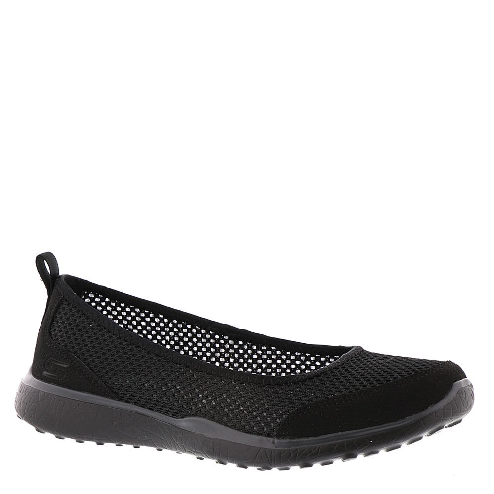 Skechers Microburst Sudden Look damen Slip On Skimmer Turnschuhe schwarz 9