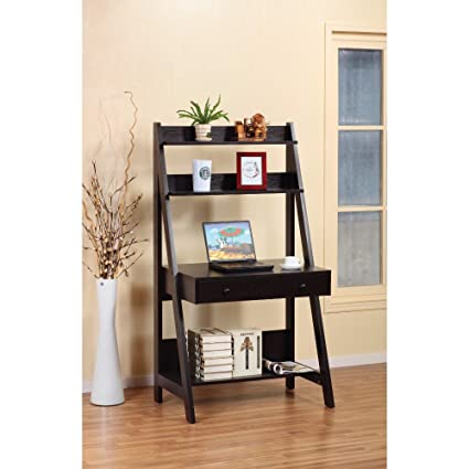 sale retailer 9bd8f d3add Amazon.com: Benzara BM148747 Contemporary Style Ladder Desk ...