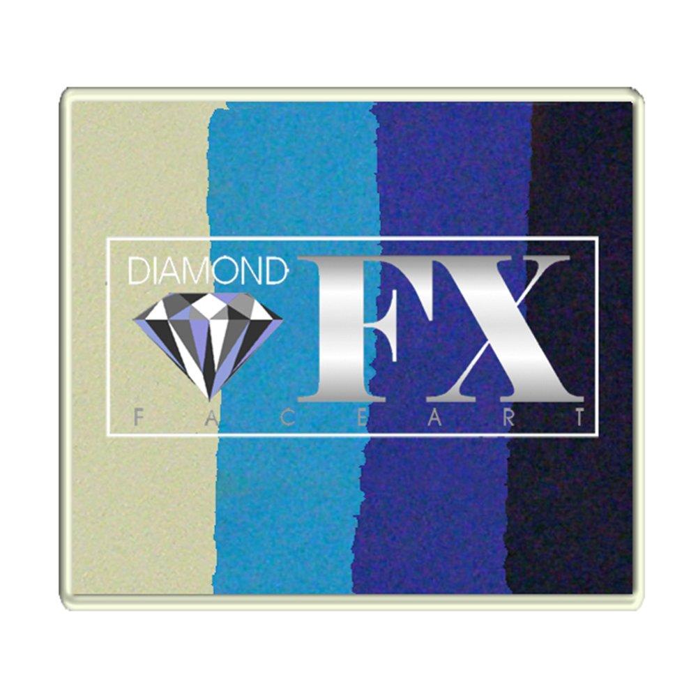 Diamond FX 50g Split Cake Face Paint ~ Captain Obvious (RS50-10)