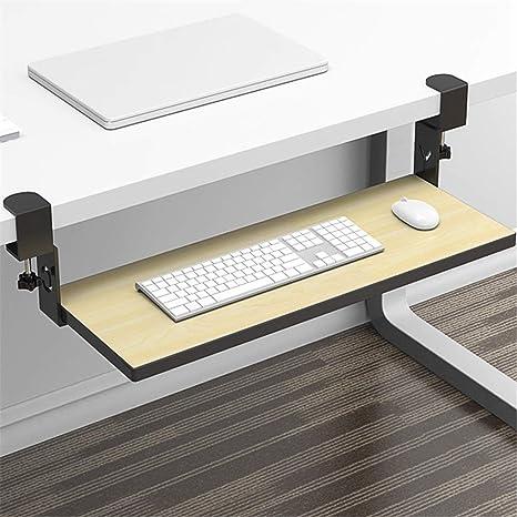 Bandeja para teclado de computadora debajo del escritorio ...