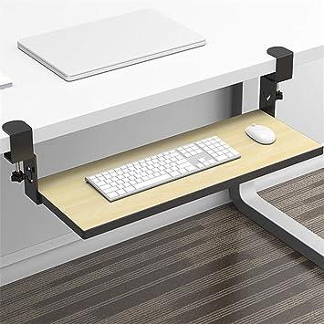 GAXQFEI bajo el escritorio del teclado de ordenador Bandeja ...