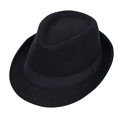 Huifang gorra QFFL xiajibaidamaozi Sombrero Sombrero de Caballero de Moda Masculina Jazz Hat Sombrero de Visera