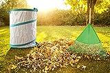 MorisMos Collapsible Leaf Bag,Garden Waste Bag,Pop Up Garden Bag,Multiple Uses for Leaf,Weeds,Cloths 30 Gallon