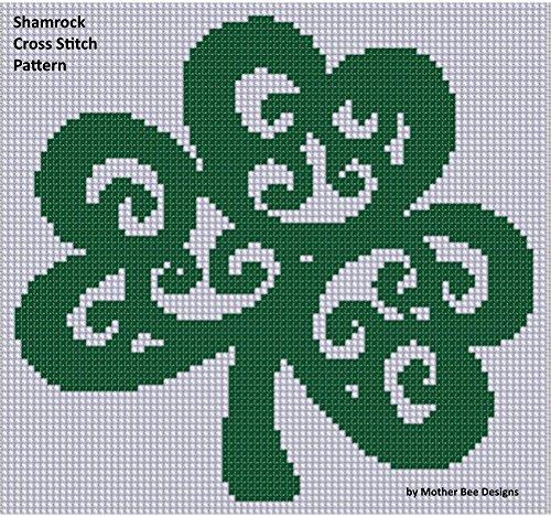 (Shamrock Cross Stitch Pattern)