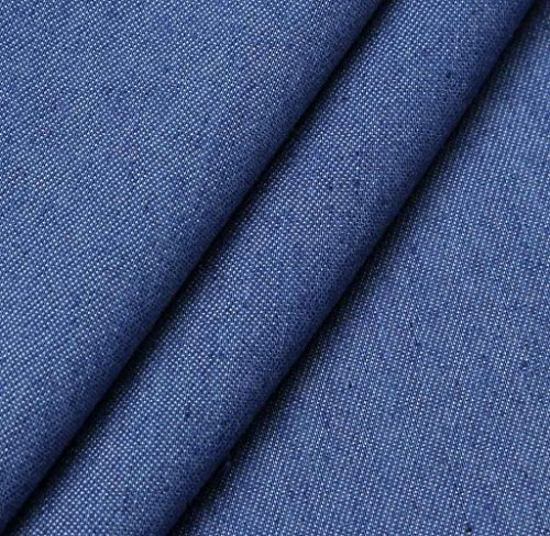 Palazzo Elastica Tempo Pantaloni Eleganti Haidean Libero Vita Donna Lunga Baggy Semplice Blau Autunno Larghi Glamorous Jeans zPF0f