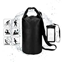 YEFFO Floating Waterproof Dry Bag 10L-500D PVC Tarpaulin| Floating Dry Gear Bags for Boating,Kayaking,Rafting,Fishing, Swimming,Hiking and Camping with Waterproof Phone Case