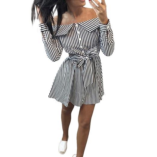 7b0a1e2c3d8 Image Unavailable. Image not available for. Color  Clearance Women Dresses  Off Shoulder Cocktail Evening Mini Dress ...