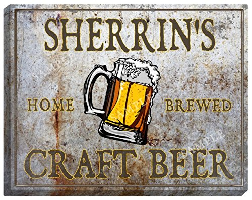 sherrins-craft-beer-stretched-canvas-sign-24-x-30