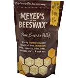 Meyer's Pure Domestic USA Beeswax, Not Imported, Additive Free Triple Filtered Pellets for All Your Do It Yourself