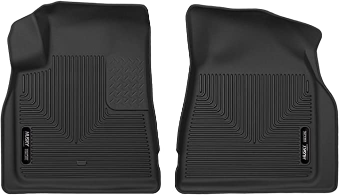 Chevrolet Traverse Outland 398490103 Grey Front Row Floor Liner For Select Buick Enclave GMC Acadia and Saturn Outlook Models