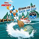 img - for Catch that Fish! /  Atrapa ese pez! (English-Spanish) (Disney Junior: Mickey and the Roadster Racers) (Disney Bilingual) book / textbook / text book
