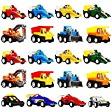 Pull Back Cars for Kids, 20 Pack Toy Cars for 2 Year Old BoysToys for 2-6 Year Old Boys Gifts for 2-6 Year Old Boys Toys for Kids UKTSPULL2001