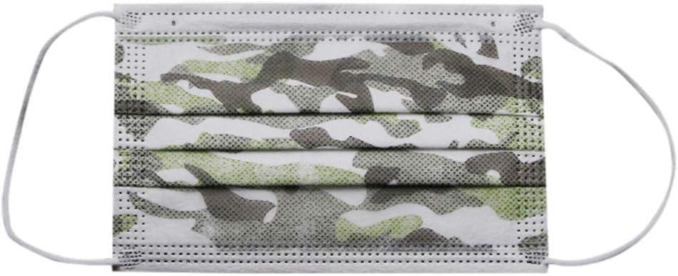 Ni/ños 20PC Desechable Protector para Mascarillas Color Negro Unidades Orejas Flexible Protector facial//Bufanda con bucle//Bandana//Pasamonta/ñas Caza Mariposa Ilustraciones