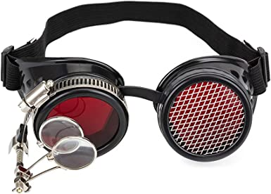 SteamPunk GOGGLES Welding Gothic Victorian Cosplay COOPER Single Eyed