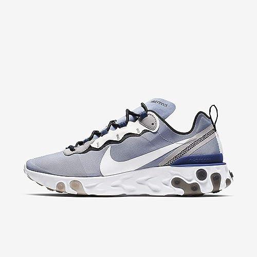 Nike React Element 55, Chaussures d'Athlétisme Homme: Amazon