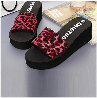 New Women Ladies Summer Platform Bath Wedge Beach Slope Flops Slippers Shoes